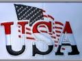 Patriotic Baseball Cap Emblem