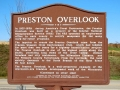 Preston Overlook Sign on MN 16