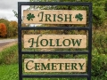 Irish Hollow Cemetery - Rockland, Michigan
