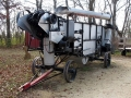 Thresher converted to BBQ