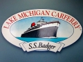 S.S. Badger Lake Michigan Car Ferry