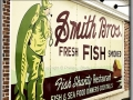 Smith Bros. Fish Shanty Sign - Port Washington, WI