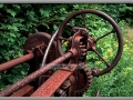 Relics of the Old UP – Abandoned Road Grader