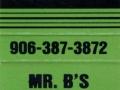 Mr. B's Restaurant - Munising, MI