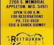 George's Steak House - Appleton, WI