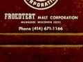 Frodtert Malt Corporation - Milwaukee, WI
