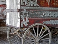 Unrestored Martin Bros. Circus Wagon