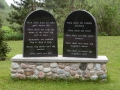 The Ten Commandments are Still Legal in the U.P. - Sion Lutheran Church, Amasa