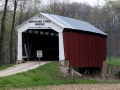 Bowsher Ford Covered Bridge (1915) - Parke County, Indiana