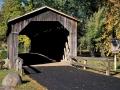 Cedarburg Covered Bridge (1876) - Ozaukee County, Wisconsin