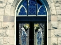Entrance doors - St. Mary's Church