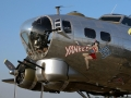 """B-17 Flying Fortress Bomber """"Yankee Girl"""""""