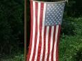 Backlit Yard Flag