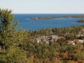 Brockway Mountain Drive overlooking Copper Harbor - Keweenaw County, Michigan