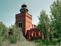 Fourteen Mile Point Lighthouse Ruins - Lake Superior