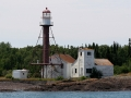 Manitou Island Lighthouse (1850) - Lake Superior