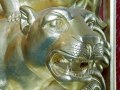 Lion & Mirror Bandwagon No. 1 - Carving Detail
