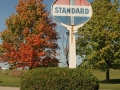 Standard Oil Sign - Stonington, Michigan