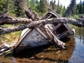 Abandoned boat - Chippewa Harbor