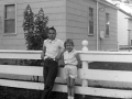 1961+Phil+and+Peg+by+Fence-3163798988-O
