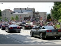 Corvettes on Parade – Heading Downtown