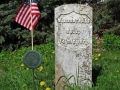 Civil War Era Gravestone - New Prospect, WI