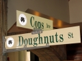 Cops and Donuts - Clare, Michigan