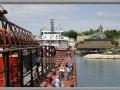 Port Washington Inner Harbor Viewed from Steamer Herbert C. Jackson