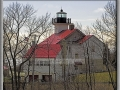 1860 USCG Light Station - Northeast View from Bluff