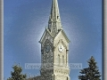 St. Mary's Church Steeple, All Aglow