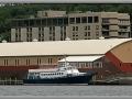 M/V Keweenaw Star moored near Dee Stadium in Houghton, MI
