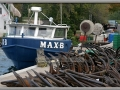Net Anchors and Fishing Boat