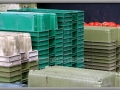 Stacked Fish Crates