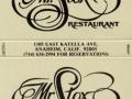 Mr. Stox Restaurant - Anaheim, CA