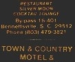 Town & Country Motel & Restaurant - Fayetteville, NC