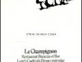 LeChampignon Restaurant Francais et Bar - Philadelphia, PA