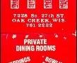Rafters - Oak Creek, WI