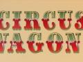 Circus Wagons Decorative Text