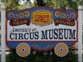 Circus World Museum Sign