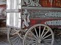Unrestored Martin Bros. Circus Wagon