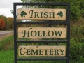 Irish Hollow Cemetery