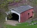Narrows Covered Bridge (1882) - Parke County, Indiana