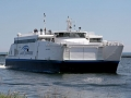 Lake Express Car Ferry entering Milwaukee