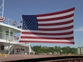 U.S. Flag aboard the Steamer Herbert C. Jackson - Port Washington, Wisconsin