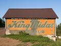King Midas Flour Sign on Garage - Hancock, Michigan