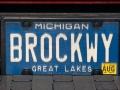 Brockway License Plate - Keweenaw County, Michigan