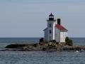 Gull Rock Lighthouse (1867) - Lake Superior