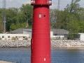 Muskegon South Pier Light - Lake Michigan