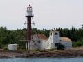 Manitou Island Lighthouse (1850) - Lake Superior