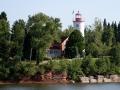 Jacobsville (Portage River, 1869) Light - Lake Superior